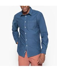 La Redoute - Printed Slim Fit Shirt - Lyst