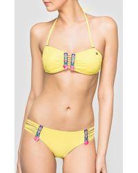 Banana Moon - Printed Bikini Top - Lyst