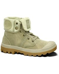 Palladium - Pallabrouse Baggy High Top Trainers - Lyst