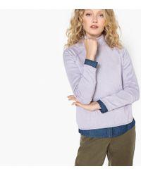 La Redoute - Basic Roll Neck Jumper/sweater, Box Shape - Lyst