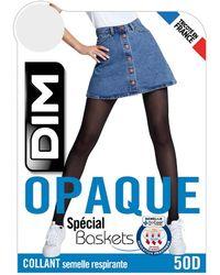 DIM Medias opacas especial zapatillas 50 deniers - Negro