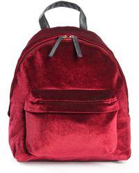 La Redoute - Velour Backpack - Lyst
