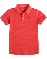 Pepe Jeans - Polo 8-16 Ans - Lyst