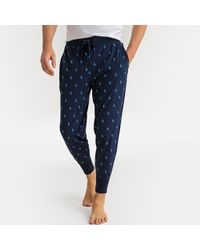 Polo Ralph Lauren - Pantalón de pijama 100% algodón estampado - Lyst