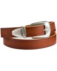 La Redoute Cinturón estilo western - Marrón