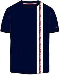 Tommy Hilfiger Camiseta de pijama de manga corta - Azul