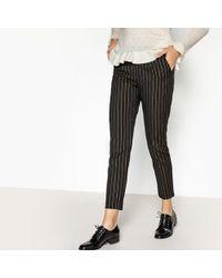 Suncoo - Jarod Striped Straight Trousers - Lyst