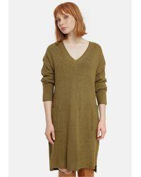 Compañía Fantástica Robe-pull courte, 2 poches - Vert