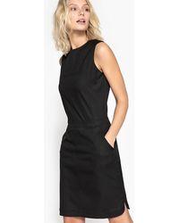 La Redoute - Straight Zipped Sleeveless Dress - Lyst