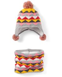 La Redoute - Peruvian Style Hat And Snood - Lyst