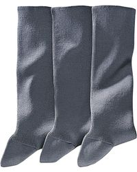 La Redoute - Pack Of 3 Pairs Of Cotton Lisle Socks - Lyst