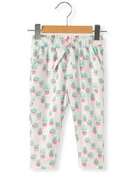 La Redoute - Cactus Print Trousers, 1 Month-3 Years - Lyst