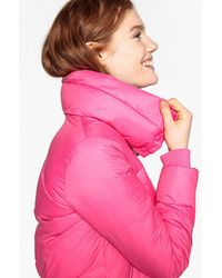 La Redoute - Short Padded Jacket With High Neck - Lyst