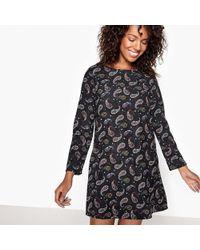 Compañía Fantástica - Long-sleeved Mini Dress - Lyst