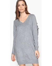 Vero Moda | Plain Midi Length Shift Dress | Lyst