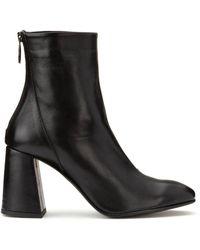 Vero Moda Bottines cuir Cilla - Noir
