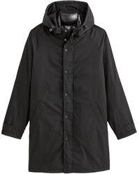 La Redoute Parka con capucha 3 en 1 con chaleco acolchado desmontable - Negro