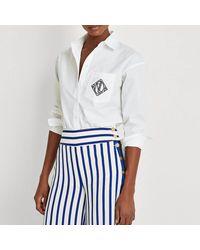 Lauren by Ralph Lauren Chemise, manches longues - Blanc
