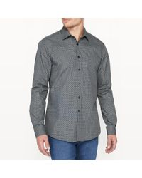 LA REDOUTE | Printed Slim Fit Shirt | Lyst