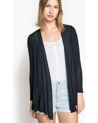 Esprit - Fine Gauge Knit Open Cardigan - Lyst