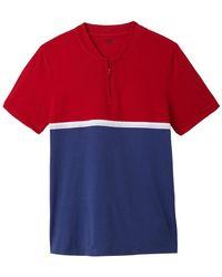 La Redoute - Colour Block Polo Shirt - Lyst