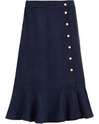 La Redoute Falda recta, larga - Azul