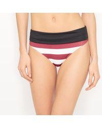 La Redoute - Striped Bikini Bottoms - Lyst