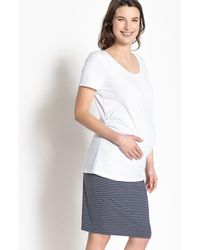 LA REDOUTE | Maternity T-shirt With Pleated Waist Detail | Lyst