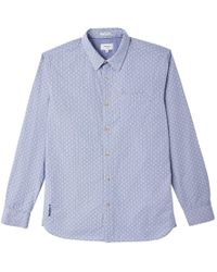 Pepe Jeans - Printed Long-sleeved Shirt - Lyst