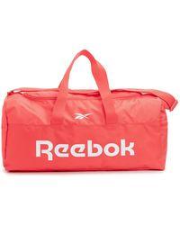 Reebok Bolso de deporte - Naranja