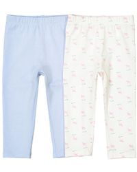01f4ed95e72b2 Lyst - La Redoute Pack Of 2 Sheep Print Leggings, 1 Month-3 Years in ...