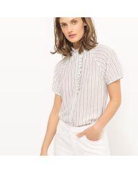LA REDOUTE | Straight Cotton Shirt | Lyst