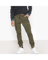 La Redoute - Canvas Joggers, 10-16 Years - Lyst