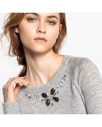 La Redoute - Decorated Jewel Jumper/sweater - Lyst