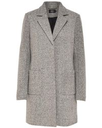 ONLY - Straight Coat With Patch Pockets - Lyst