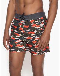 La Redoute - Camouflage Print Boardshorts - Lyst
