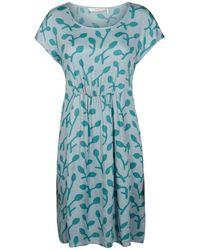 Numph - Printed Dress - Lyst