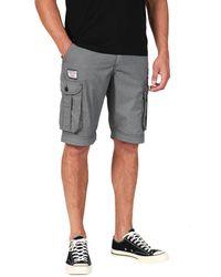 Oxbow Short con cinturón - Gris