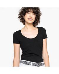 La Redoute - Plain Crew Neck T-shirt - Lyst