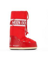 Moon Boot Botas Nylon - Rojo
