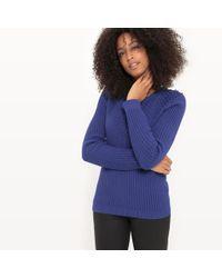 La Redoute - Patterned Crew Neck Jumper/sweater - Lyst