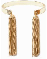 La Redoute - Bracelet With Metal Tassels - Lyst