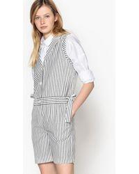 LA REDOUTE | Sleeveless Striped Playsuit | Lyst