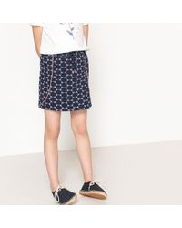 La Redoute - Printed Pencil Skirt, 3-12 Years - Lyst