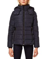 Esprit - Short Padded Jacket With Stand-up Collar - Lyst
