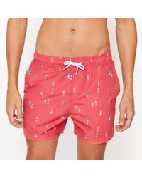 LA REDOUTE | Printed Swim Shorts | Lyst