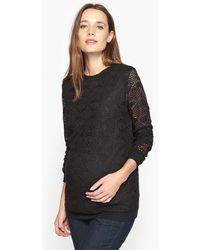 La Redoute - Zwangerschap Sweater In Kant - Lyst