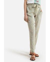 Harris Wilson Pantalon droit imprimé floral LEON - Multicolore