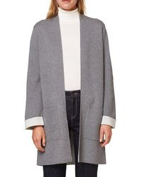 Esprit - Long Fine Gauge Knit Open Cardigan - Lyst