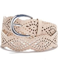La Redoute - Perforated Belt - Lyst